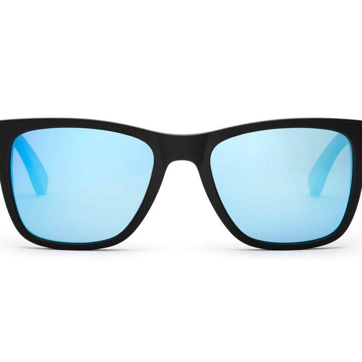 Clever Hans Holz-Sonnenbrille Frontansicht