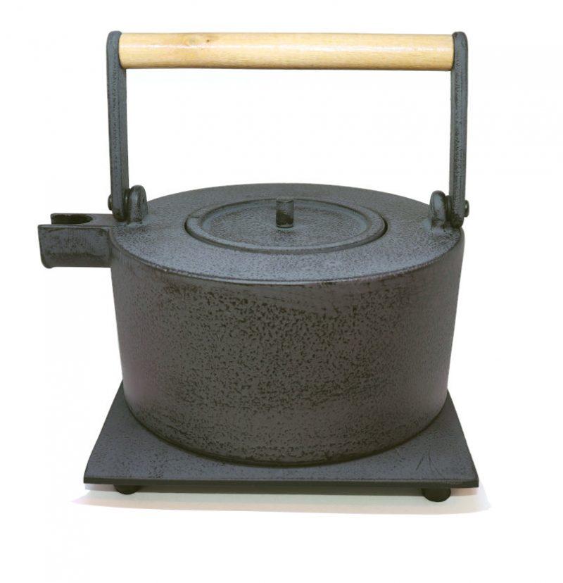Teekanne aus Gusseisen Maki 1000ml grau
