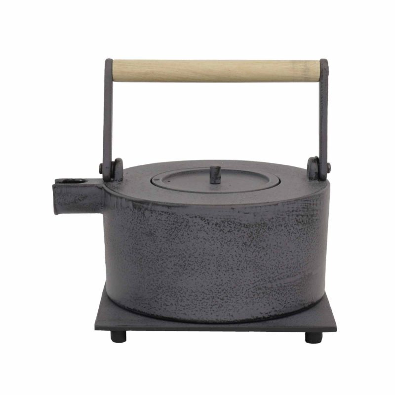 Teekanne aus Gusseisen 'Maki' in Grau, 1000ml