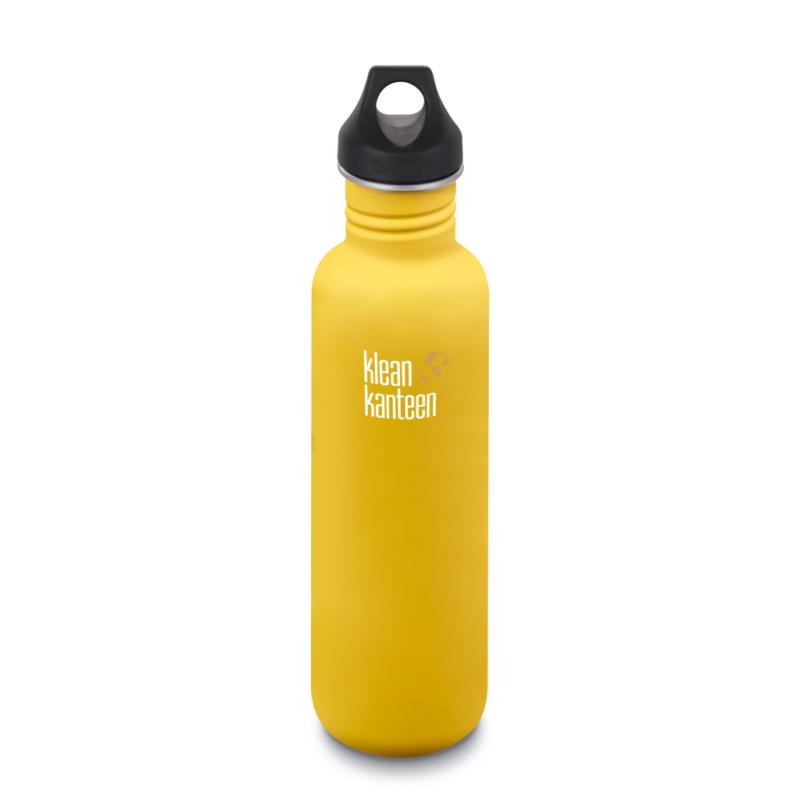 Klean Kanteen - Loop Cap, 800ml, Lemon Curry
