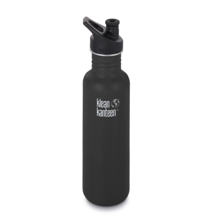 Klean Kanteen - Sports Cap, 800ml, Shale Black