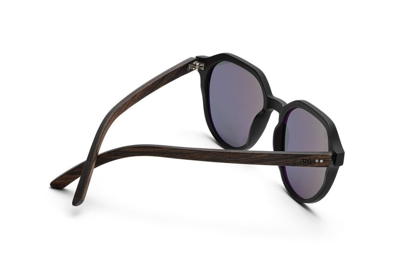 Ferguson_Holz-Sonnenbrille Walnussholz schwarz