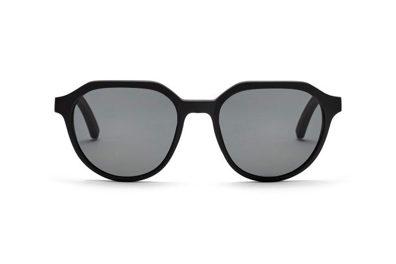 Ferguson_Holz-Sonnenbrille graues Glas