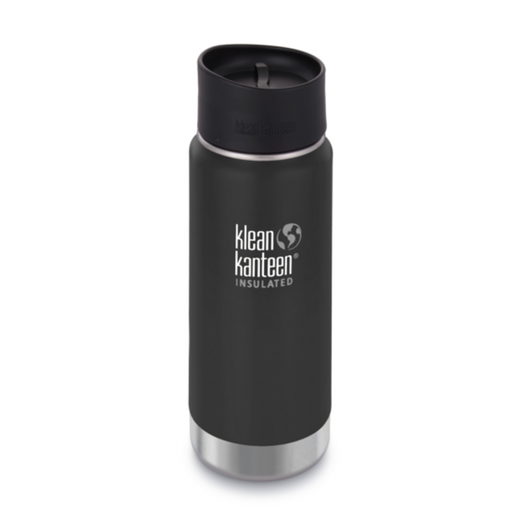 Klean Kanteen Thermobecher Cafe Cap 2.0, 473ml - Shale Black