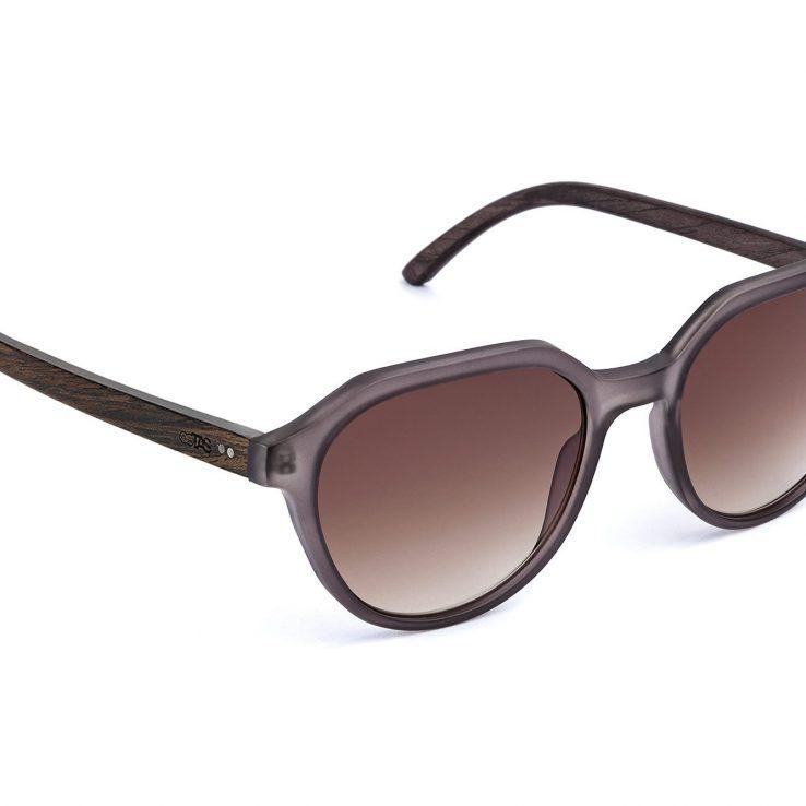 Holz-Sonnenbrille Helena Seitenansicht