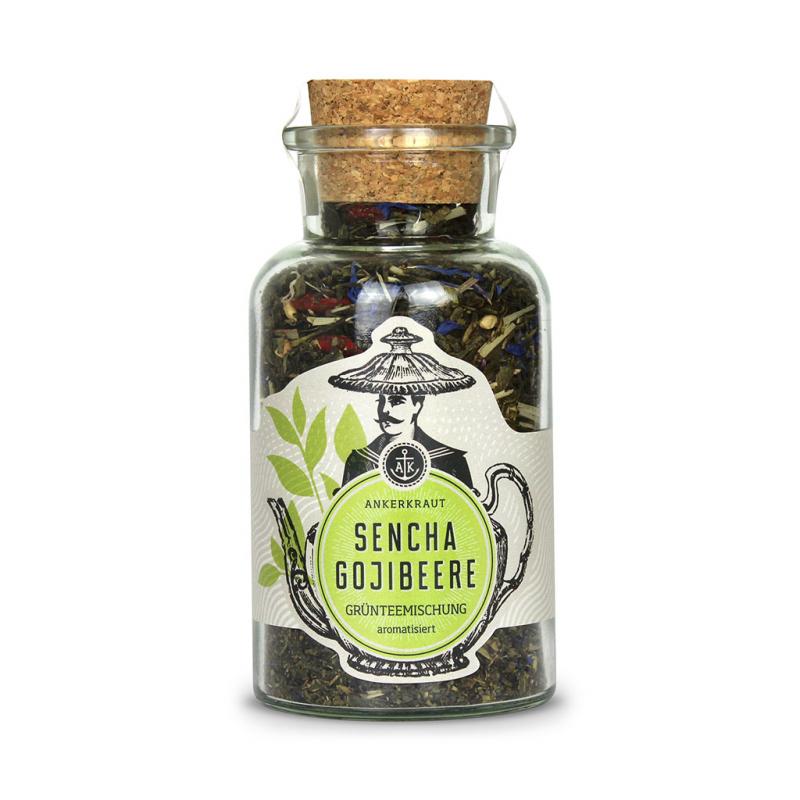 Ankerkraut Gruentee Sencha Gojibeere