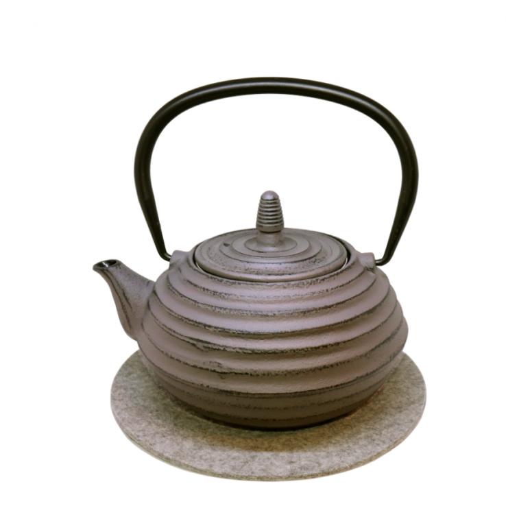 Teekanne Zubu 700ml grau