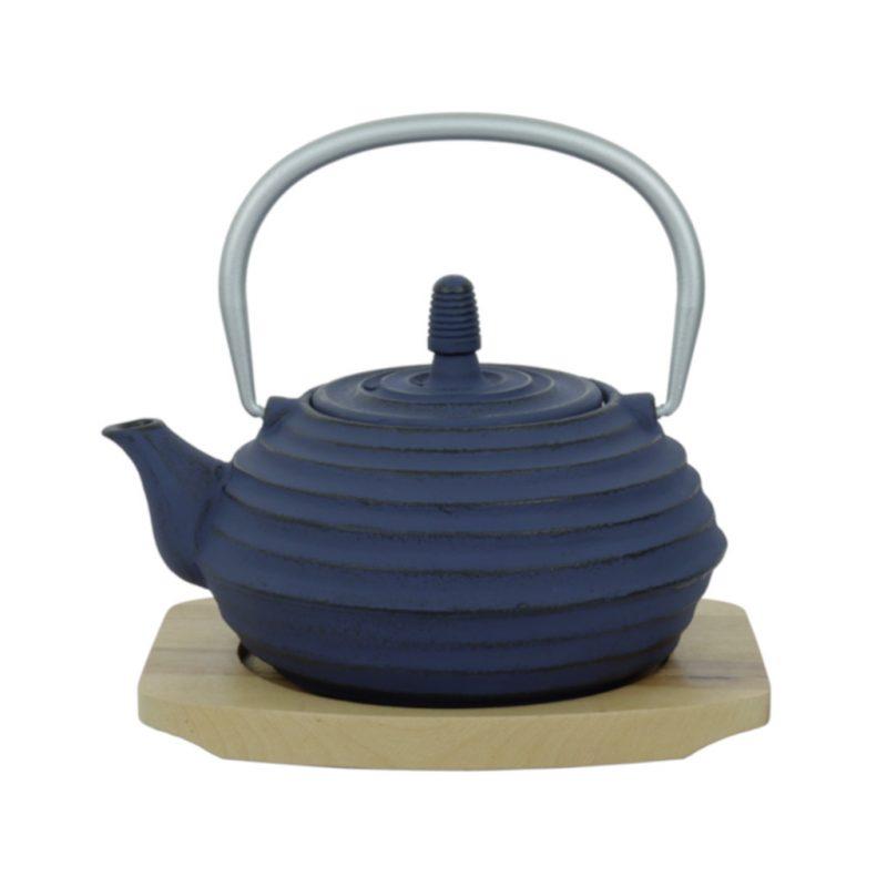 Teekanne aus Gusseisen Zubu 700ml blau