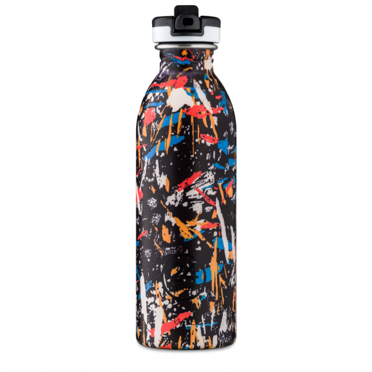 Trinkflasche aus Edelstahl Urban - Graffiti Beat,, 500ml, Lookbook01
