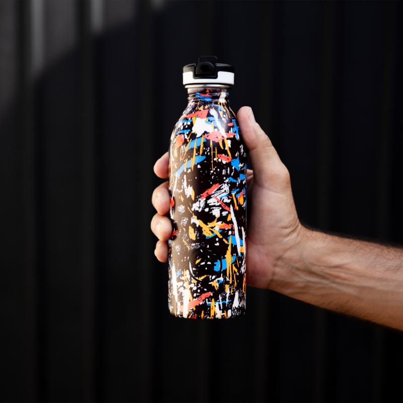 Trinkflasche aus Edelstahl Urban - Graffiti Beat,, 500ml, Lookbook02