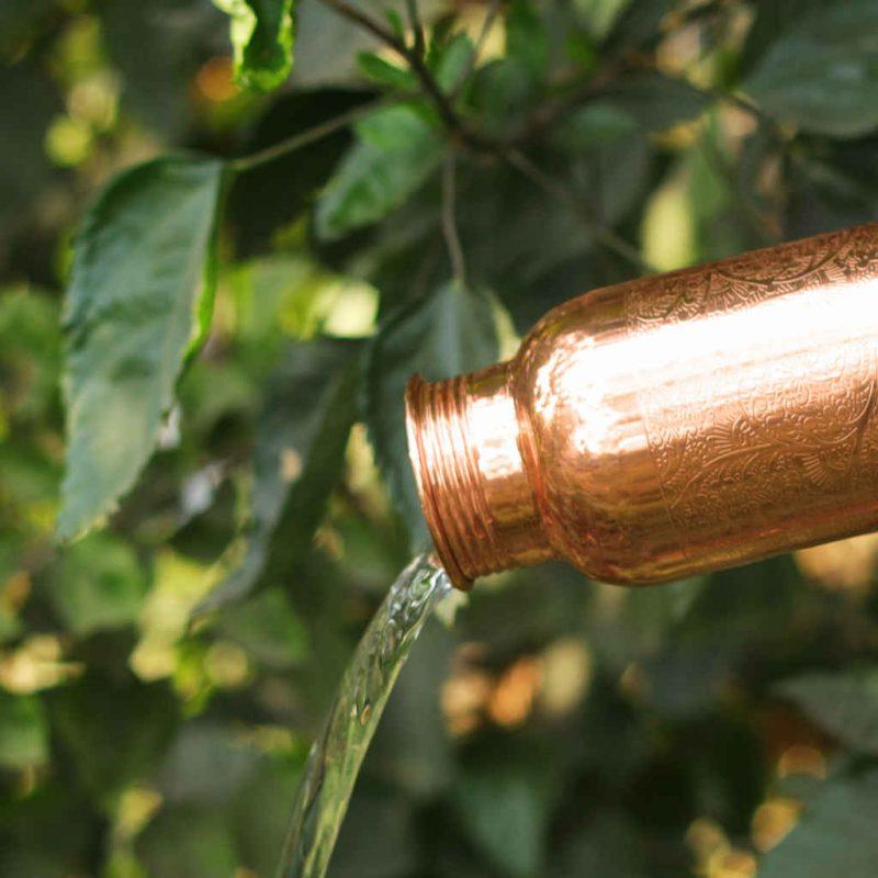Kupferflasche graviert 900ml