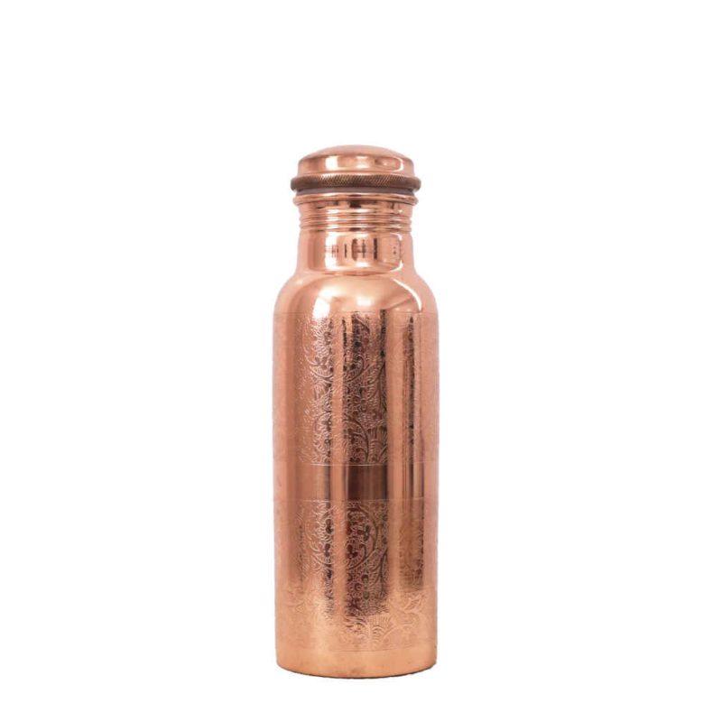 Kupferflasche graviert 600ml