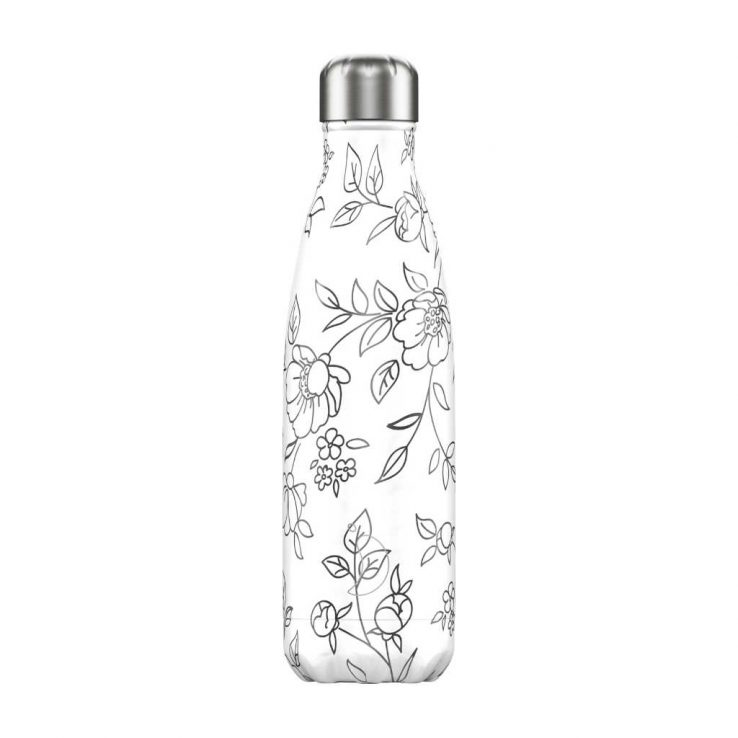 Isolierflasche Line Drawing Flowers 500ml