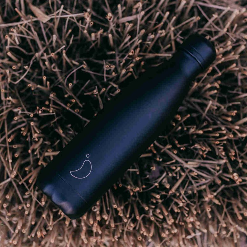 Isolierflasche Monochrome AllBlack 500ml Lookbook01