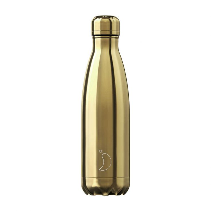 Isolierflasche Chrome Gold 500ml