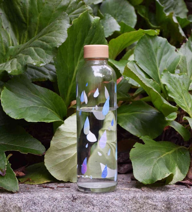 Trinkflasche aus Glas CARRY Bottles Drop in the Ocean 700ml Lookbook03