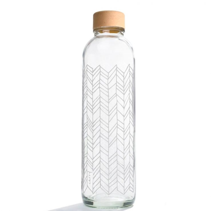 Trinkflasche aus Glas CARRY Bottles Structure of Life 700ml Lookbook01