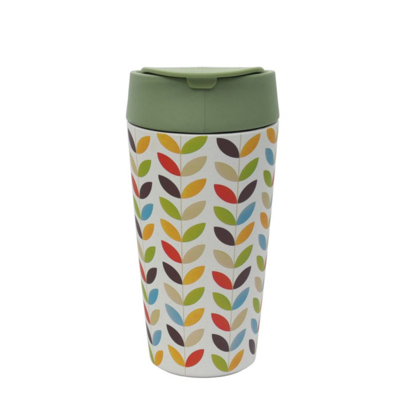 Kaffeebecher Deluxe Cup Bright Leaves 420ml