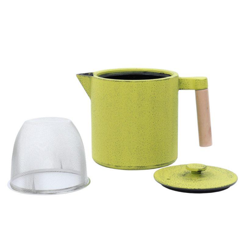Teekanne aus Gusseisen Chiisana 800ml grün mit Deckel - Lookbook01