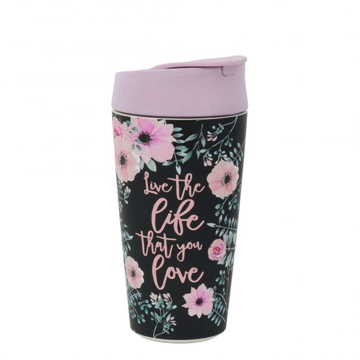 Kaffeebecher Deluxe Cup Live the Life, 420ml