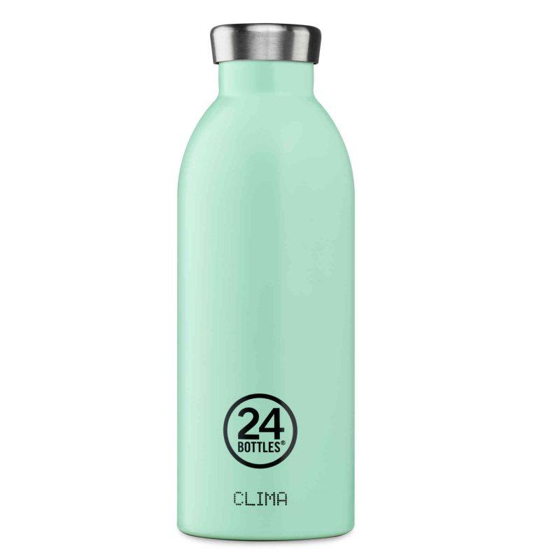 Trinkflasche aus Edelstahl, Clima - Aqua Green, 500ml