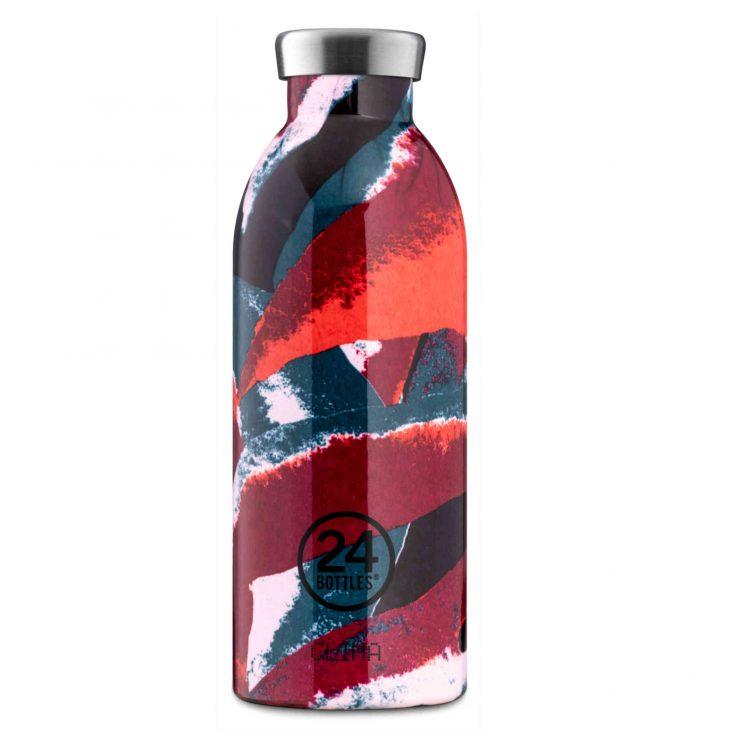 Trinkflasche aus Edelstahl, Clima - Flower Flame, 500ml
