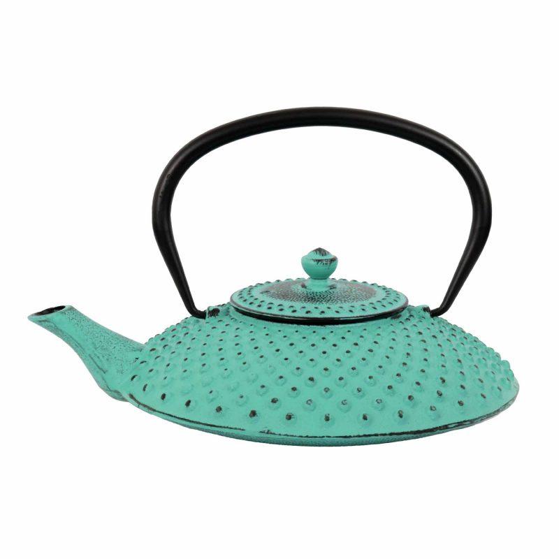 Teekanne aus Gusseisen 'Kambin' in Lucite Grün
