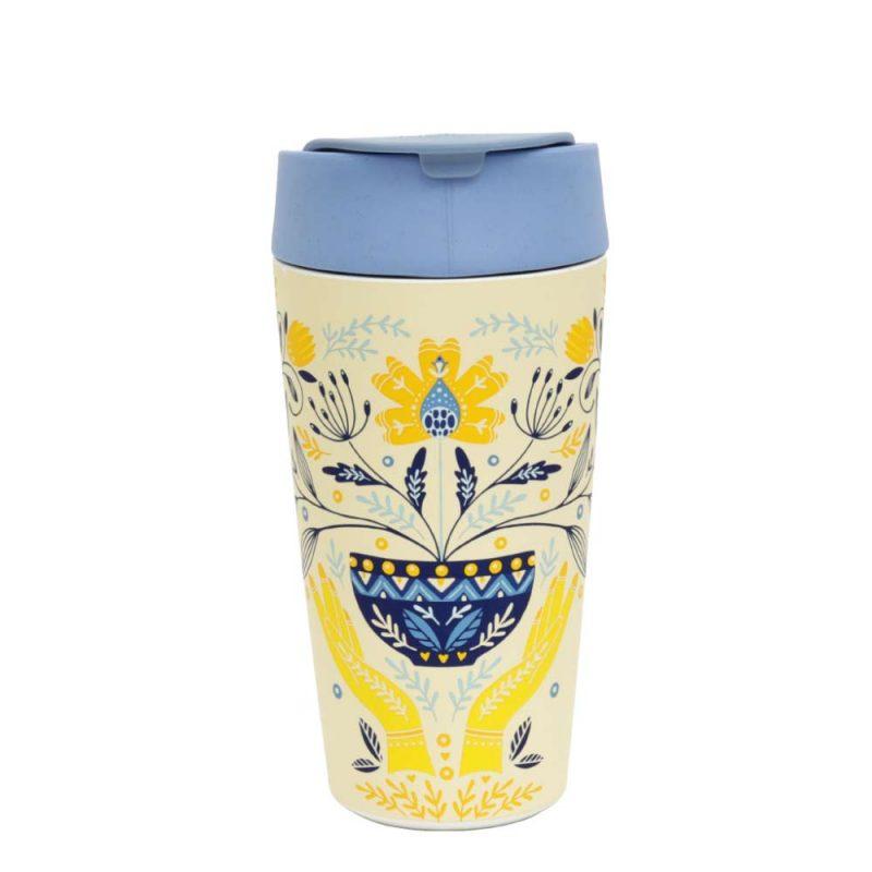Kaffeebecher Bioloco Plant - Deluxe Cup 'Tea', 420ml