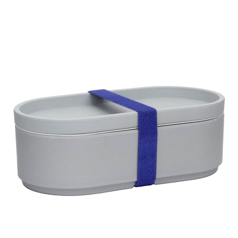 Lunchbox aus Bambus GREY