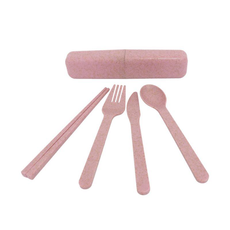 Reisebesteck 'pink'