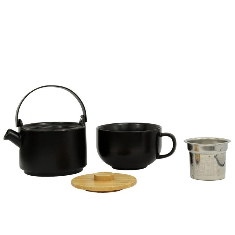 Tea for One UMEA, Teekanne im Set aus Porzellan, 500ml - Lookbook 02