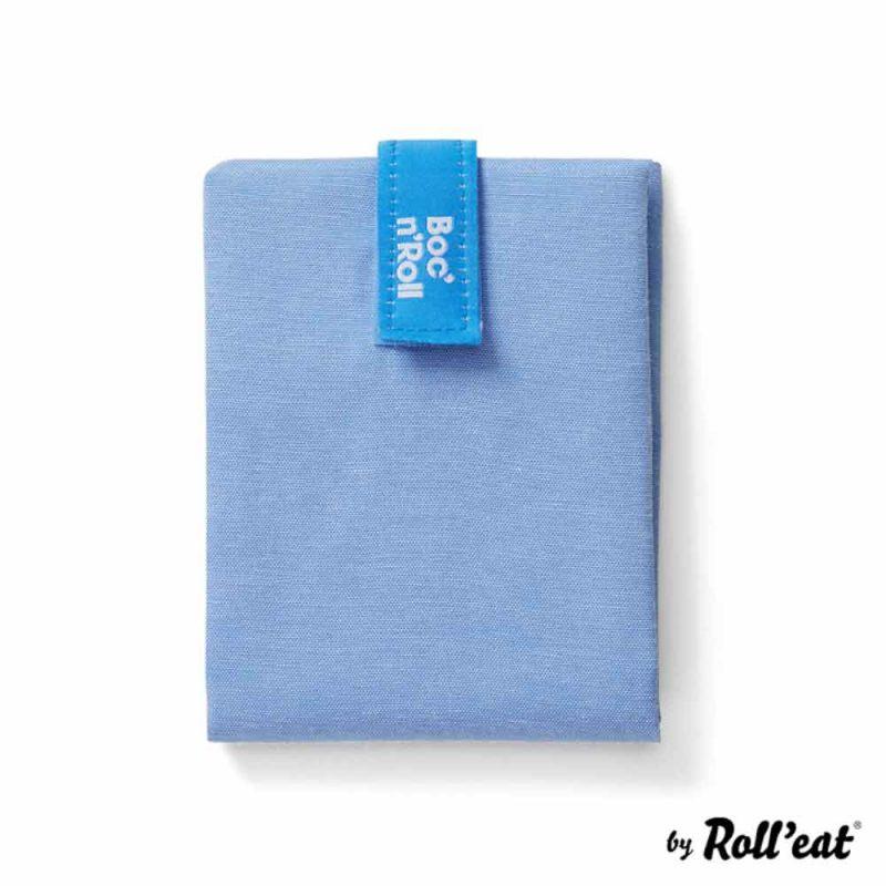 Sandwich Wrap und Brotzeittuch 'Boc 'n Roll' in Blau