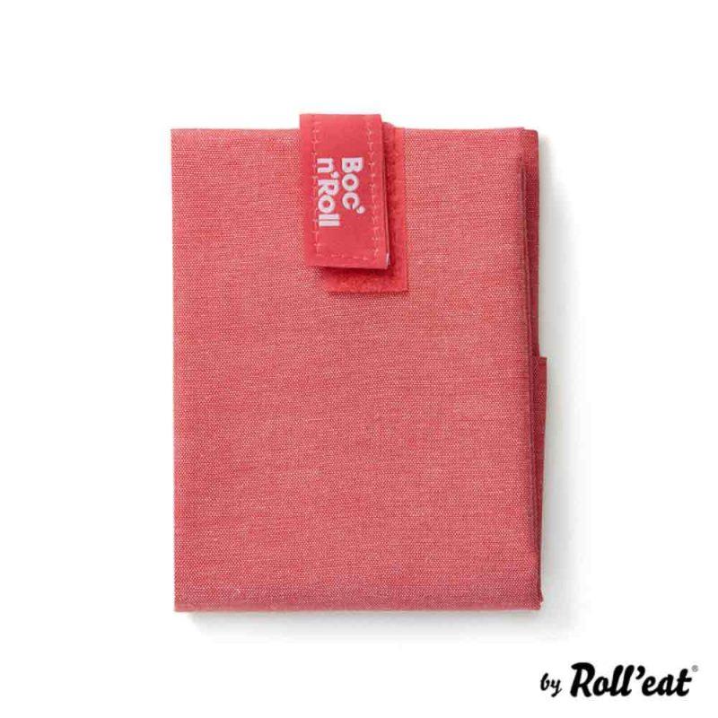 Sandwich Wrap und Brotzeittuch 'Boc 'n Roll' in Rot
