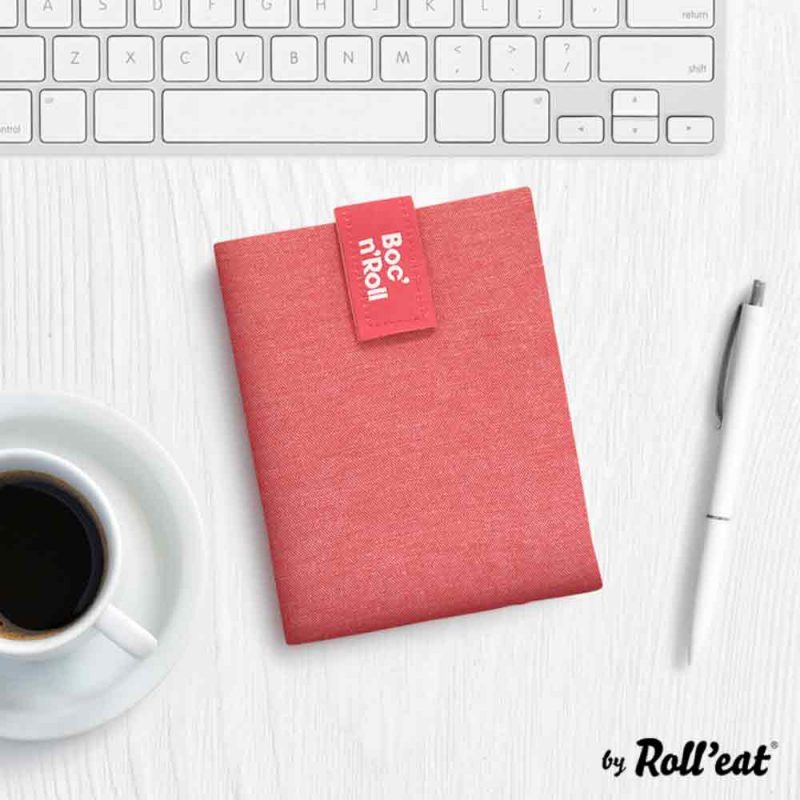 Sandwich Wrap und Brotzeittuch 'Boc 'n Roll' in Rot, Lookbook02