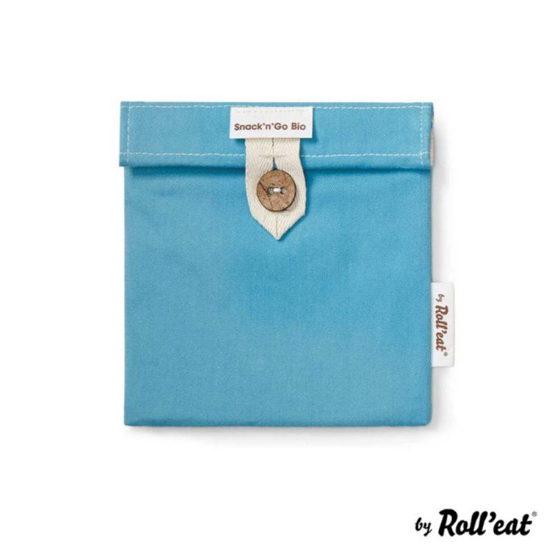Snackbag Snack-and-Go Bio in Blau