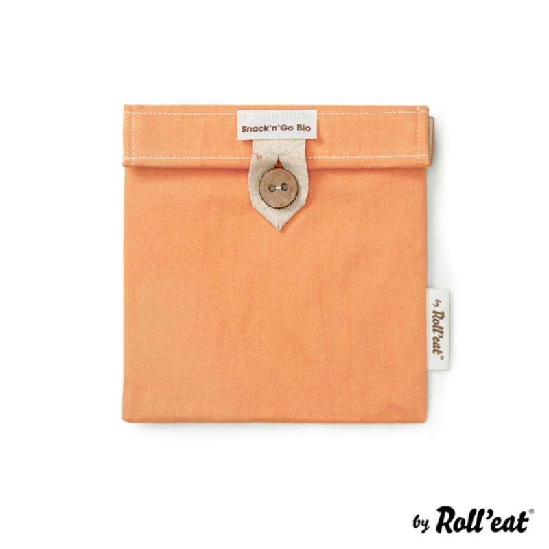 Snackbag Snack-and-Go Bio in Orange