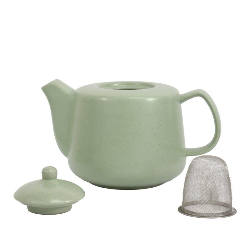 Teekanne aus Porzellan 'Hilma', 1100ml - Lieferumfang