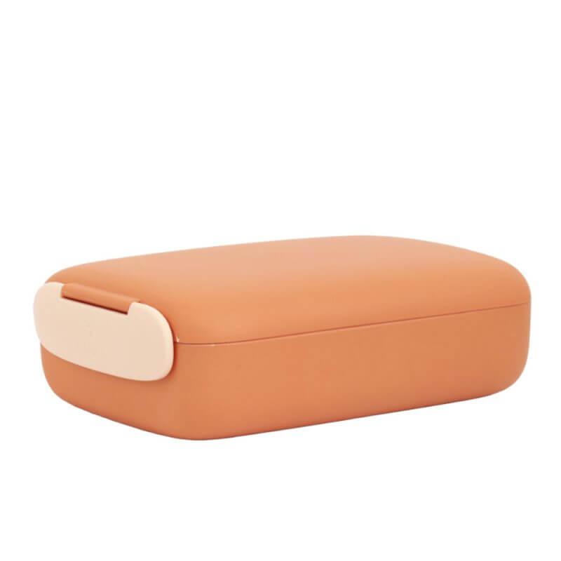 Brotdose und Lunchbox 'URBAN' in Terracotta